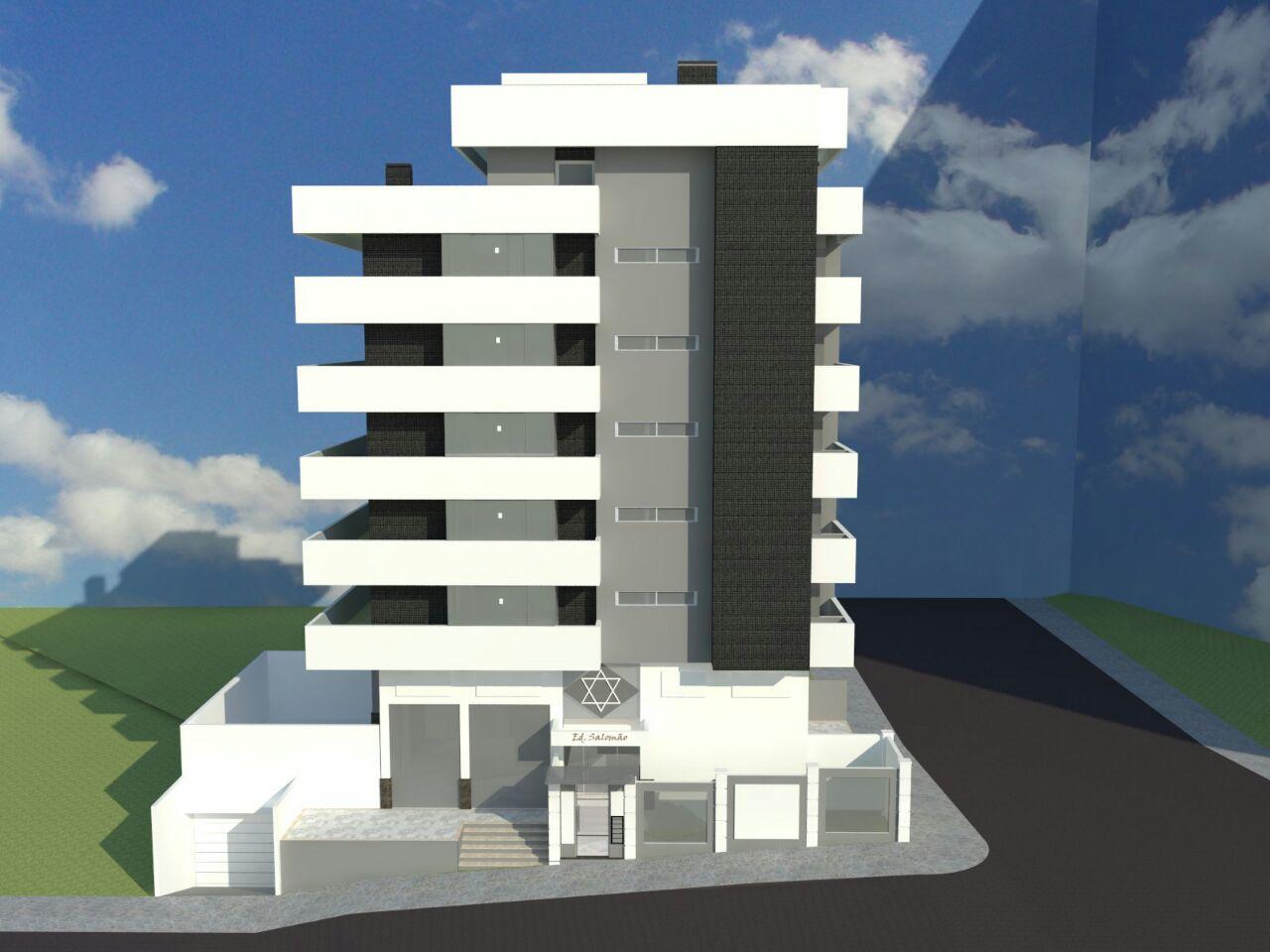 Fachada Edifício Salomão frente - Marau RS