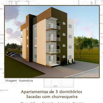 Apartamento financiavéis Casa Verde e Amarela