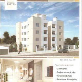 Ótimo apartamento no bairro Colinas Nova Marau