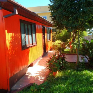 Casa mista na região central de Marau/RS