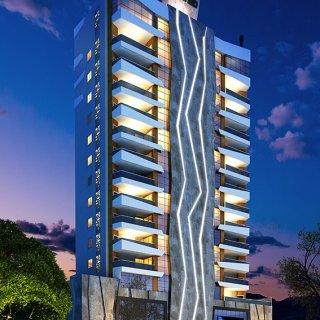 Vende-se apartamentos com 3 suites em Meia Praia em Itapema - SC