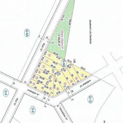 Vende-se Terrenos no Centro da Cidade de Gentil